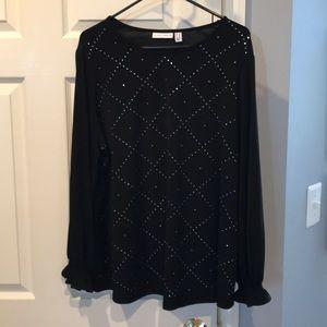Susan Graver knit top
